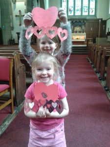 Jesus loves Lily & Connie