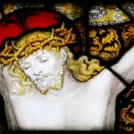Detail from Kempe's East Window